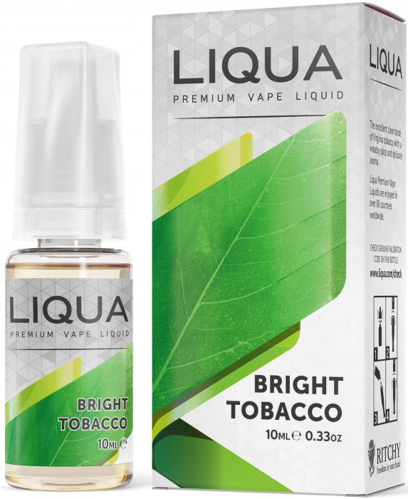 Čistý tabák - Bright Tobacco - LIQUA Elements 10 ml
