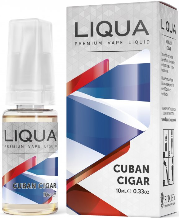 Kubánský doutník - Cuban Cigar - LIQUA Elements 10ml
