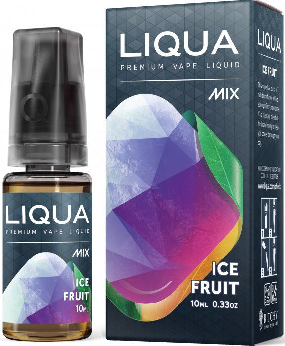 Ledové ovoce / Ice Fruit - LIQUA Mix 10ml
