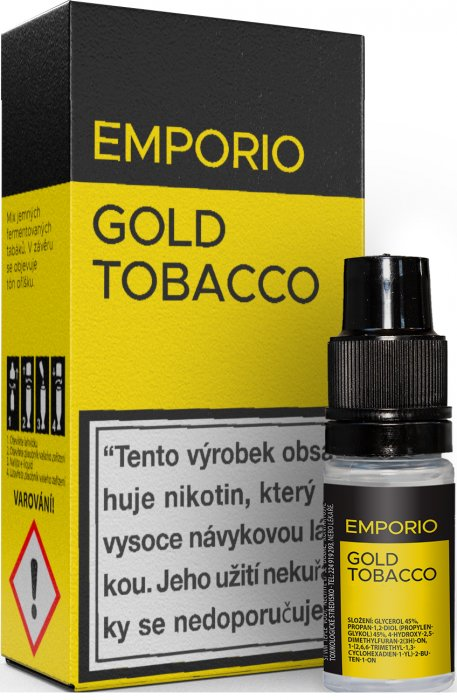 Liquid EMPORIO Gold Tobacco 10ml