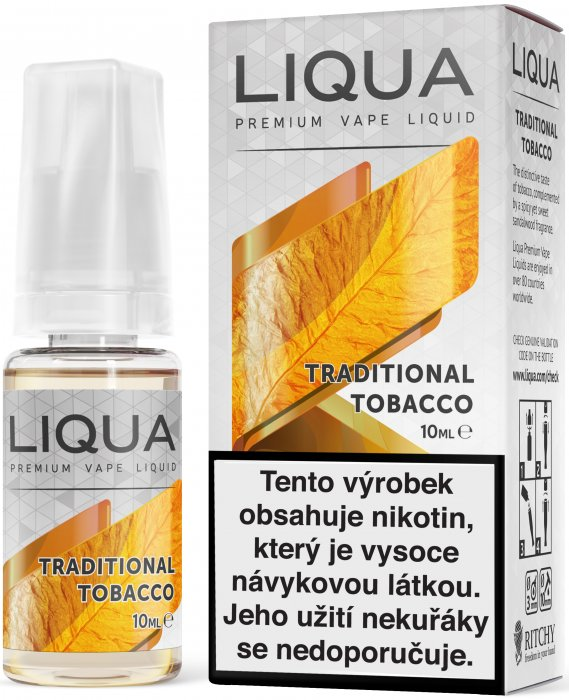 LIQUA - Traditional Tobacco 10ml