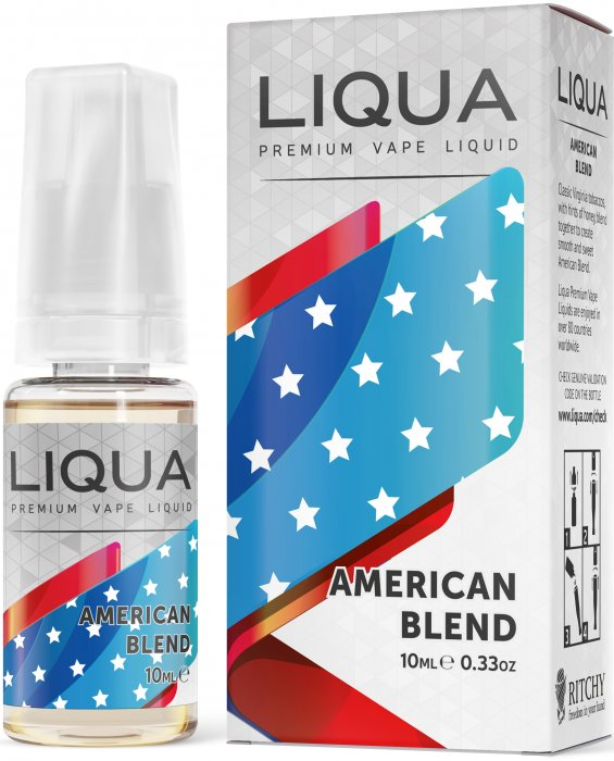 Americký tabák - American Blend - LIQUA Elements 10ml