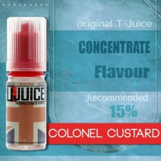 Colonel Custard - příchuť T-Juice