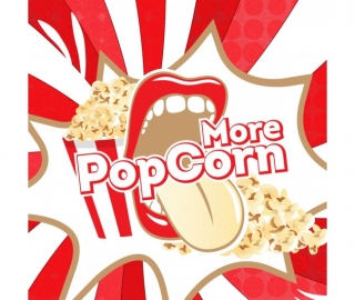 Příchut Big Mouth - More PopCorn (karamelový popcorn)
