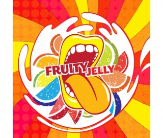 Příchut Big Mouth - Fruity Jelly (ovocné bonbony)
